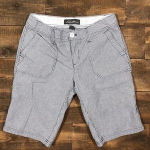 Eddie Bauer Bermuda Shorts Walking Shorts Cotton